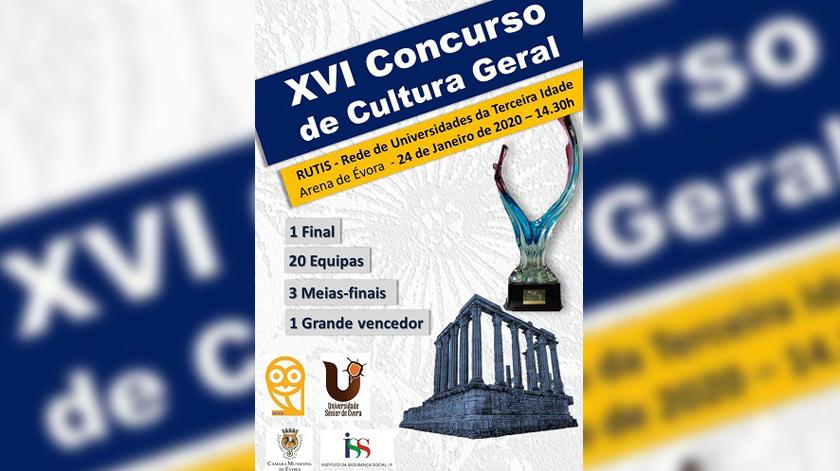 XVI Concurso de Cultura Geral da RUTIS decorreu em Évora