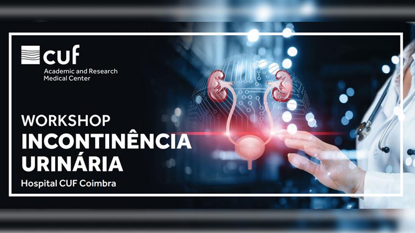 Workshop sobre incontinência urinária em Coimbra