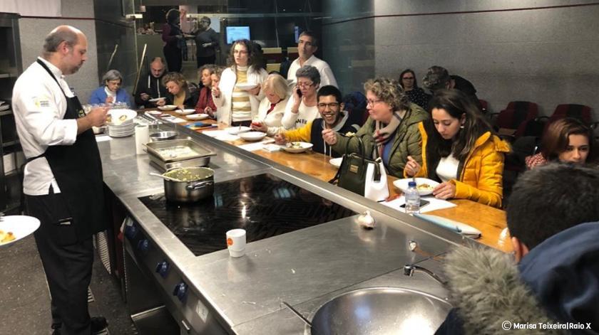 Workshop ensina doentes hemato-oncológicos a comer bem