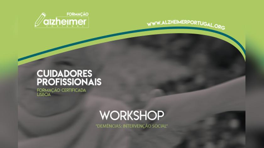 Alzheimer Portugal organiza workshop sobre intervenção nas demências