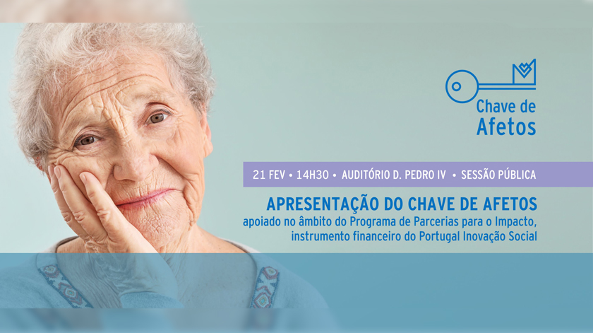 Misericórdia do Porto apresenta programa Chave de Afetos