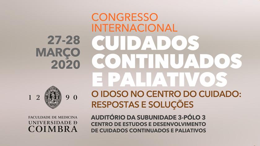 Coimbra acolhe 1.º Congresso Internacional de Cuidados Continuados e Paliativos