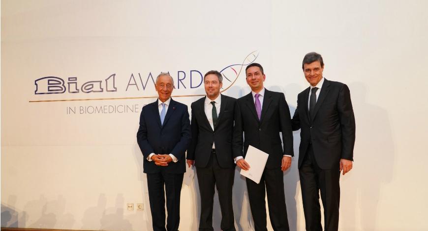 Imunologista português vence primeira edição do BIAL Award in Biomedicine