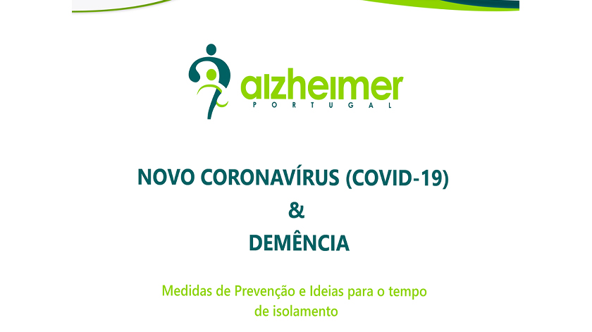 Alzheimer Portugal contextualiza relação entre coronavírus e demência