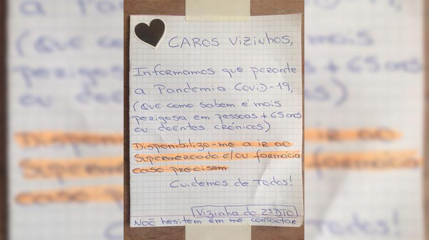 Covid-19: Moradores criam cadeia de solidariedade para ajudar vizinhos idosos
