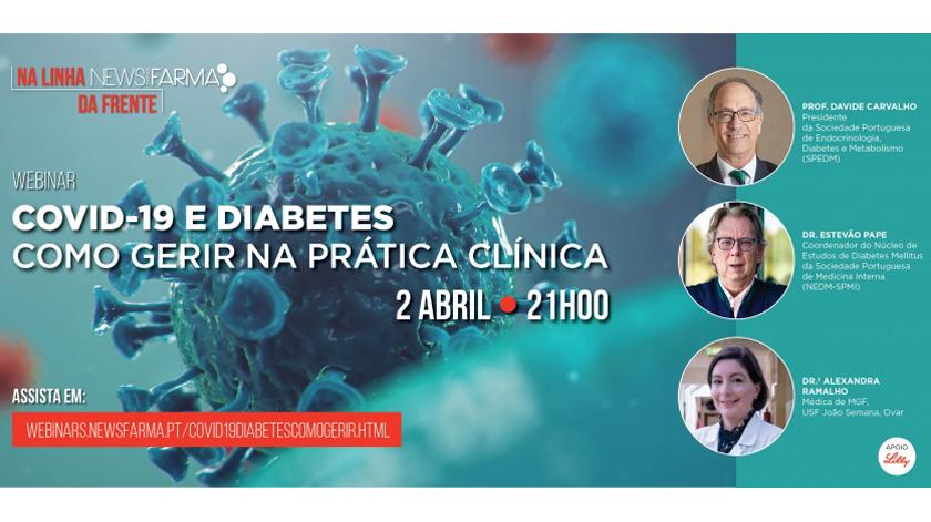 Covid-19: webinar sobre gestão da prática clínica em diabetes
