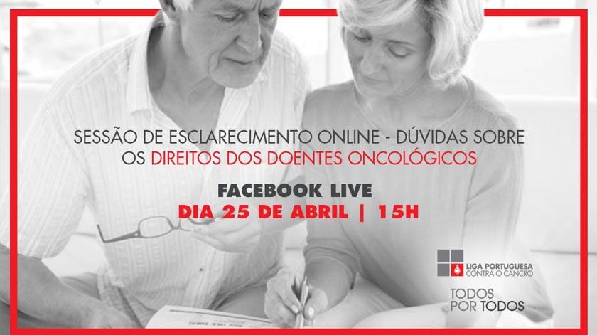 Liga Portuguesa Contra o Cancro realiza 2.ª sessão de esclarecimentos online