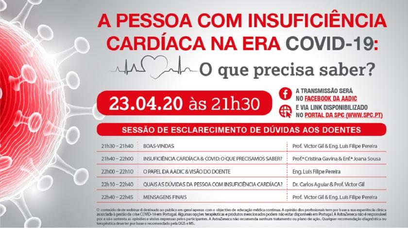 Covid-19: o que precisa de saber um doente com insuficiência cardíaca?