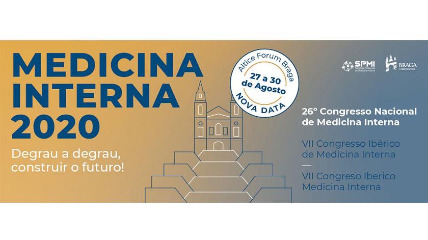 Congresso Nacional de Medicina Interna com formato presencial e transmissão em direto