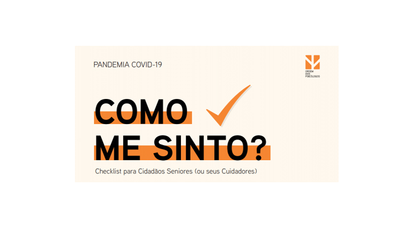 """Como me Sinto? – Checklist para Cidadãos Seniores (ou seus Cuidadores)"""