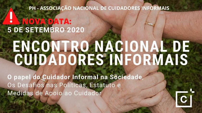Encontro Nacional de Cuidadores Informais tem nova data