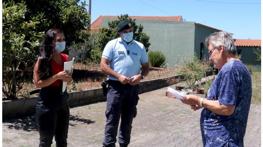 GNR apura necessidades de 54 idosos do concelho do Bombarral
