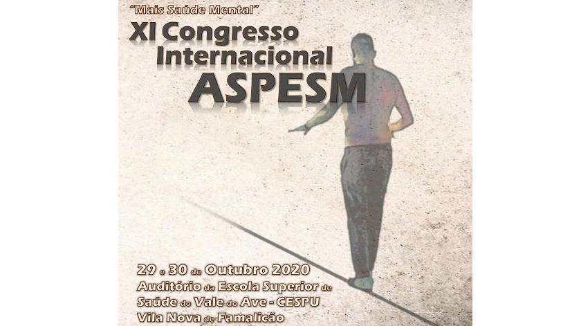 XI Congresso ASPESM 2020: 'Mais Saúde Mental'