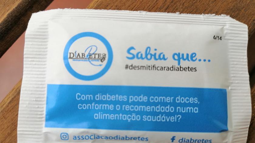 """""""Desmitificar a Diabetes"""" enquanto bebe um café"""
