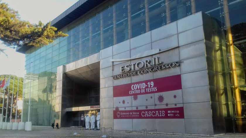 Covid-19: Área para doentes com queixas respiratórias criada no Centro de Congressos do Estoril