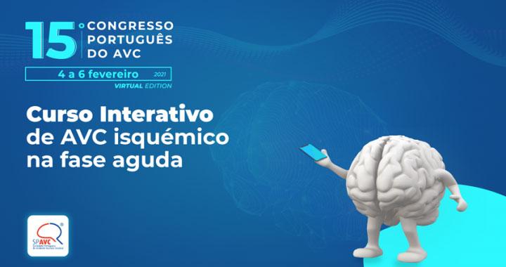 Formação interativa em AVC isquémico no 15.º Congresso Português do AVC
