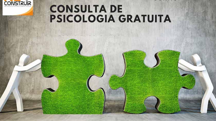 Consulta de Psicologia Gratuita – Semana Aberta