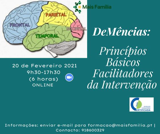 demencias formação
