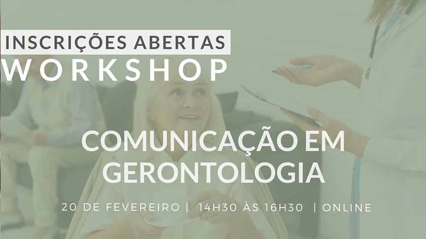Workshop: Comunicação em Gerontologia