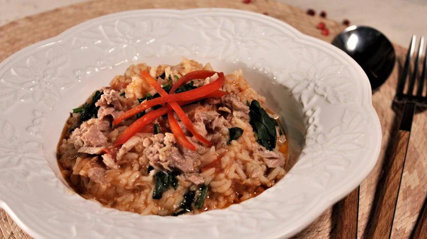 arroz atum