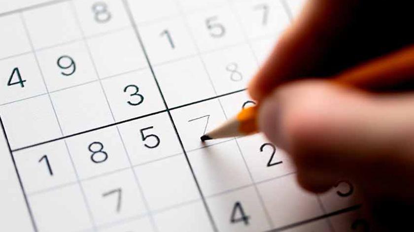 Jogue Sudoku e melhore a sua memória