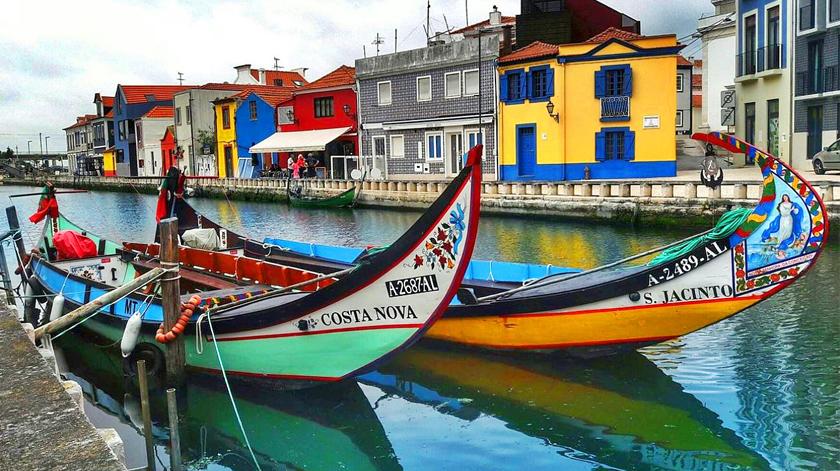 Aproveite uma viagem de Moliceiro em Aveiro