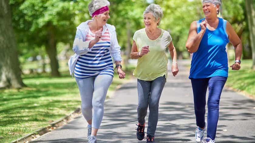 Atividade física diminui sintomas de depressão em idosos