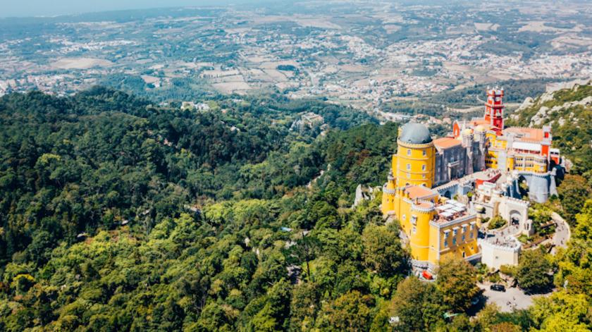 Caminhando na Serra de Sintra
