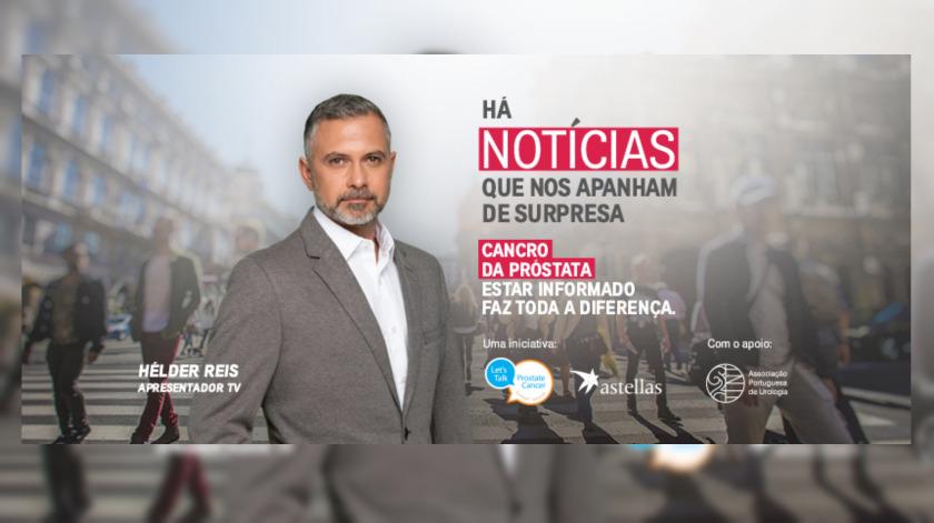 """Astellas lança iniciativa """"Homens Bem Informados"""" para sensibilizar para o cancro da próstata"""