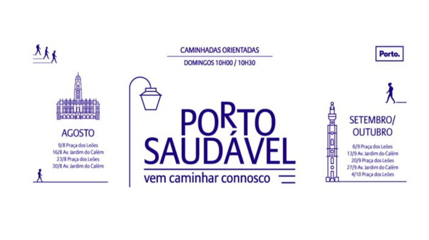 Porto Saudável reabre inscrições para as caminhadas de verão